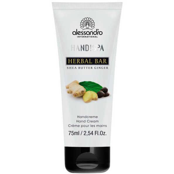 Alessandro Flower Bar Hand Cream Shea Butter Ginger - Creme para Mãos 75ml