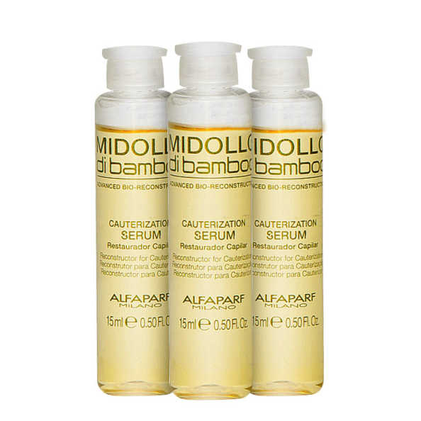 Alfaparf Midollo di Bamboo Cauterization - Serum 3x15ml