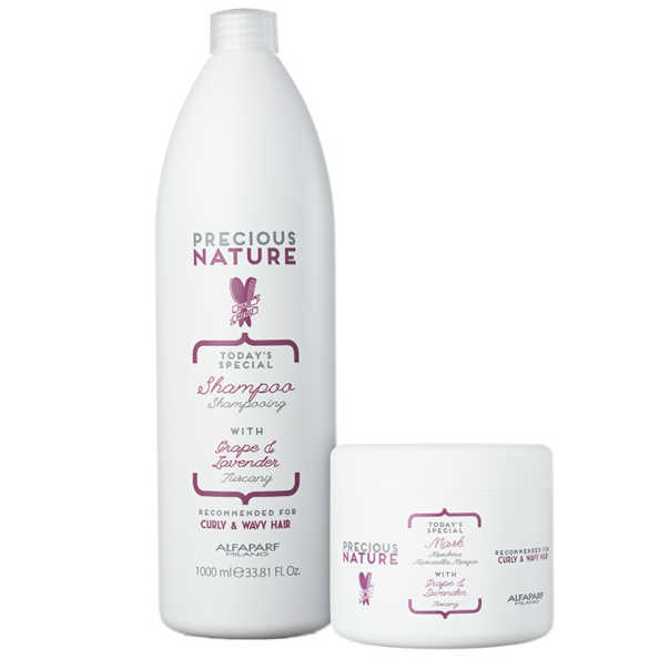 Alfaparf Precious Nature Grape & Lavender Salon Duo Kit (2 Produtos)