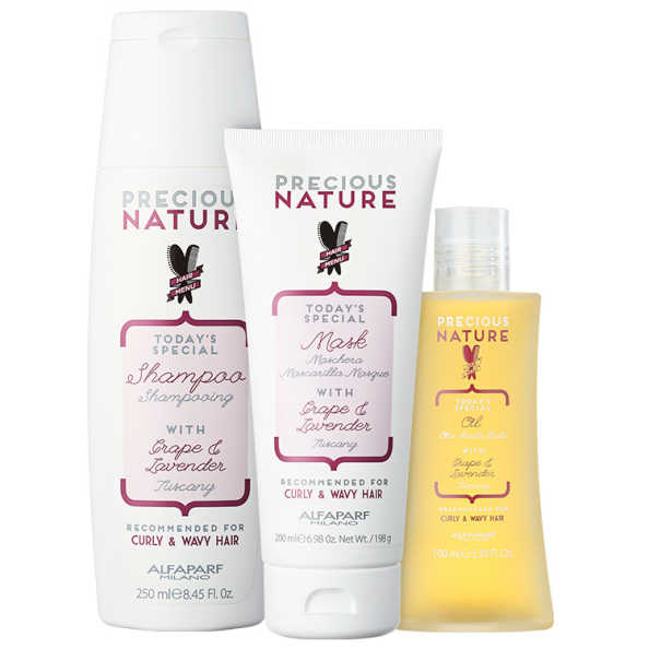 Alfaparf Precious Nature Grape & Lavender Trio Kit (3 Produtos)