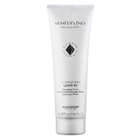 Alfaparf Semi di Lino Diamante Illuminating Leave-In Detangling Cream - Creme para Pentear 250ml