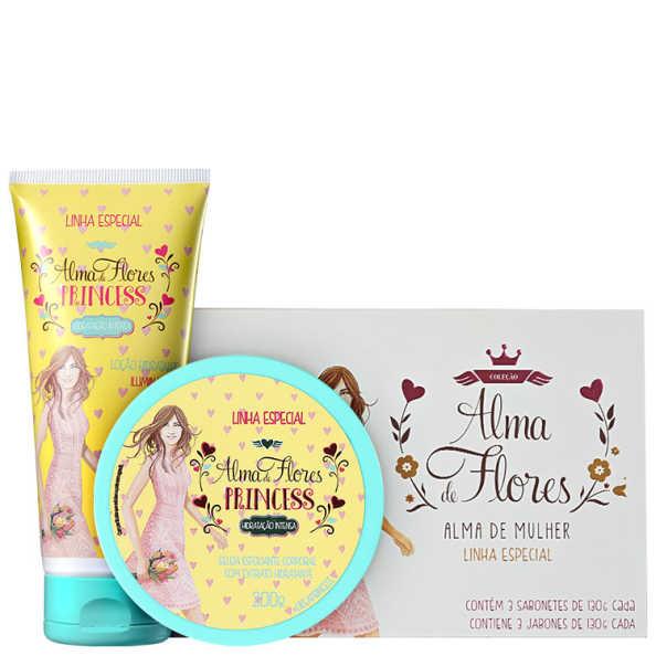 Kit Alma de Flores Princess Trio (3 produtos)