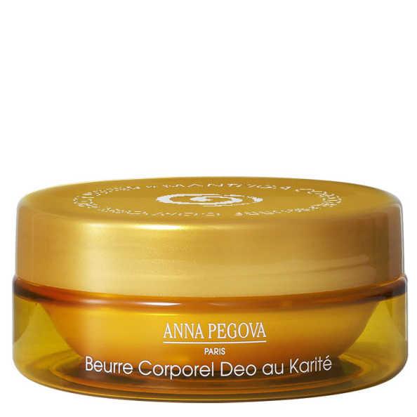 Anna Pegova Beurre Corporel Deo Au Karité Pêche Passion - Manteiga Corporal 110ml
