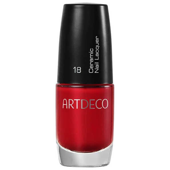 Artdeco Ceramic Nail Lacquer 18 Apple Red - Esmalte 6ml