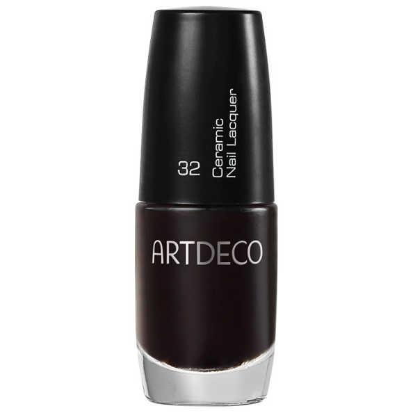 Artdeco Ceramic Nail Lacquer 32 Black Cherry - Esmalte 6ml