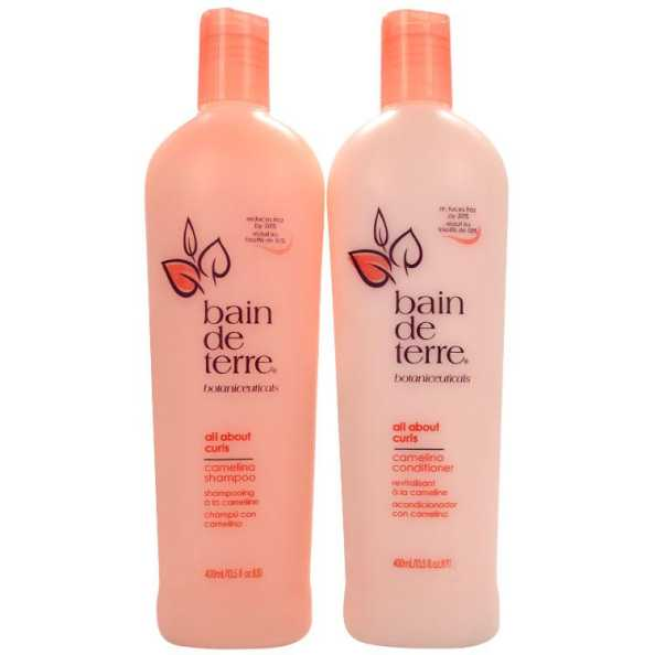 Bain de Terre All About Curls Camelina Duo Kit (2 Produtos)