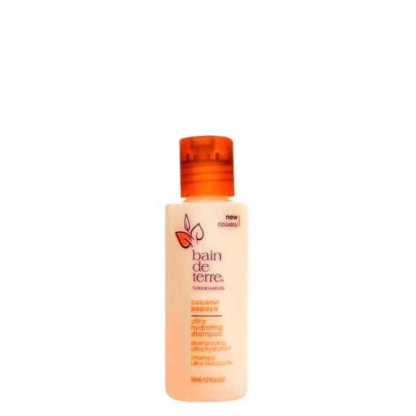 Bain De Terre Coconut Papaya Ultra Hydrating - Shampoo 50ml