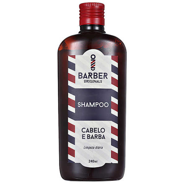 Barber Originals Cabelo e Barba - Shampoo 240ml