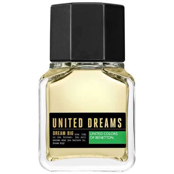 Dream big man benetton perfume masculino beleza na web for Benetton dream big