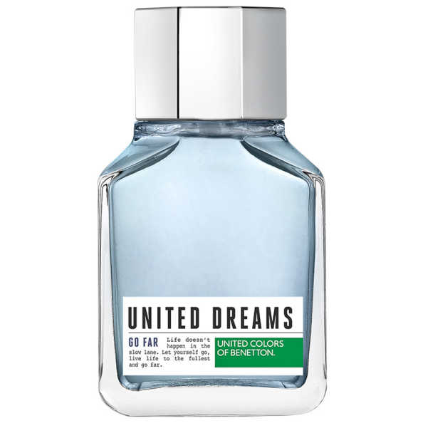 United Dreams Go Far Benetton Eau de Toilette - Perfume Masculino 100ml