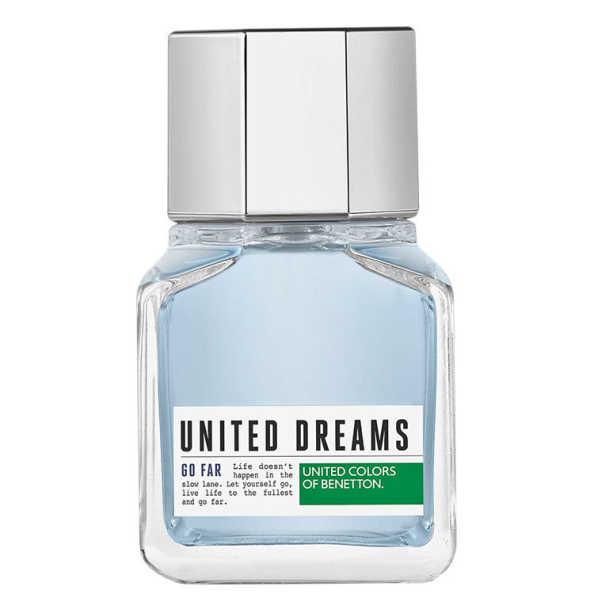 United Dreams Go Far Benetton Eau de Toilette - Perfume Masculino 60ml