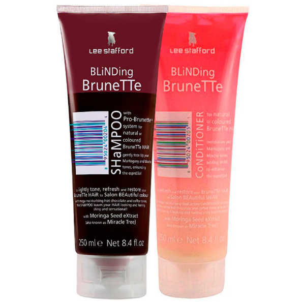 Lee Stafford Blinding Brunette Kit (2 Produtos)
