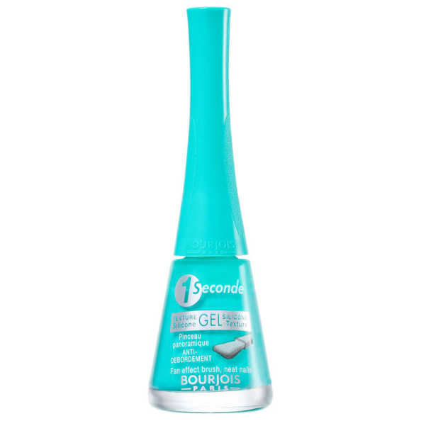Bourjois 1 Seconde Gel 22 Turquoise Block  - Esmalte 9ml