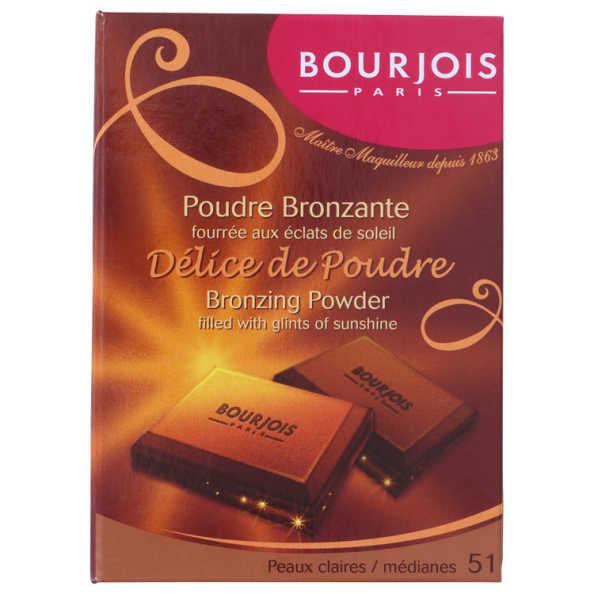 Bourjois Délice de Poudre 51 Claires/Medianes - Bronzer