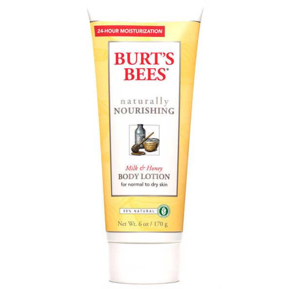 Burt's Bees Naturally Nourishin Milk & Honey Body Lotion - Loção Hidratante Corporal 170g