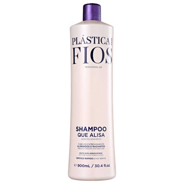 Cadiveu Professional Plástica dos Fios Shampoo que Alisa - Shampoo Alisante 900ml