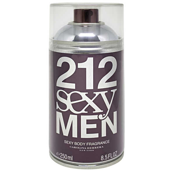 Carolina Herrera 212 Perfume Masculino Sexy Men Body - Eau de Toilette 250ml