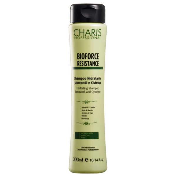 Charis Bioforce Resistance Shampoo Hidratante Jaborandi e Cisteína - Shampoo 300ml