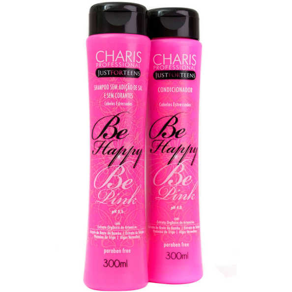 Charis Just for Teens Be Happy Be Pink Duo Kit (2 Produtos)