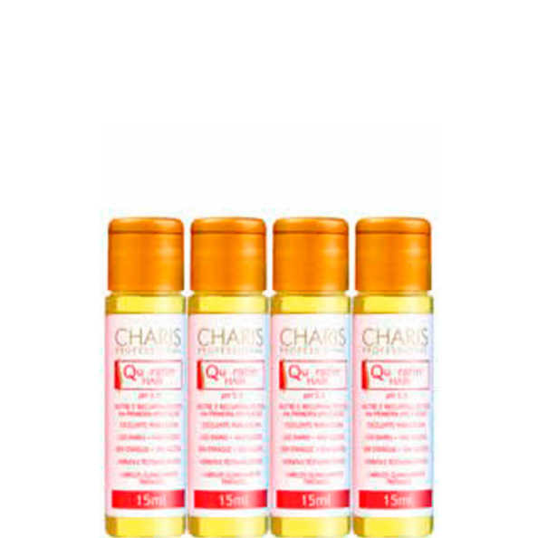 Charis Queratina Hair - Ampola de Tratamento 4x15ml