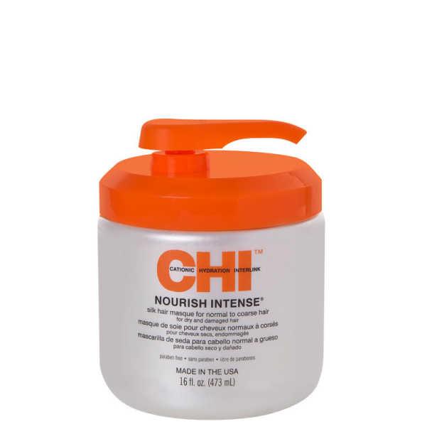 CHI Nourish Intense Silk Hair Masque for Normal To Coarse Hair - Máscara de Tratamento 473ml