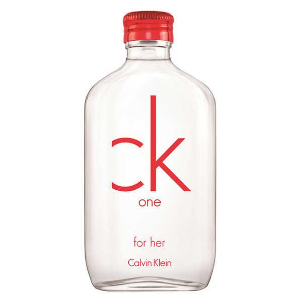 CK One Red Edition For Her Calvin Klein Eau de Toilette - Perfume Feminino 50ml