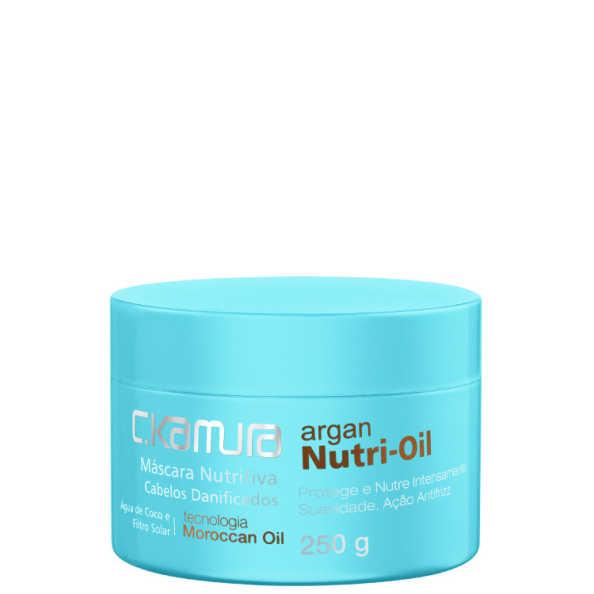 C.Kamura Argan Nutri-Oil - Máscara de Tratamento 250g