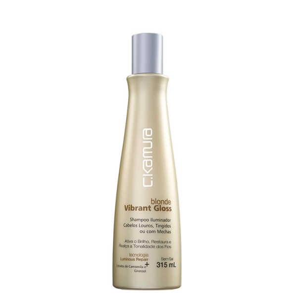 C.Kamura Blonde Vibrant Gloss - Shampoo 315ml