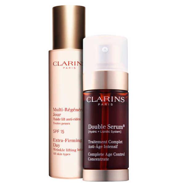 Clarins Extra-Firming Double Kit (2 Produtos)