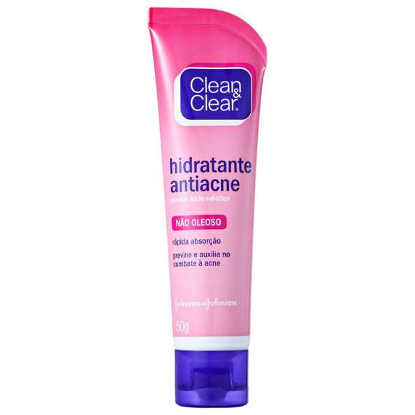 Clean & Clear Hidratante Antiacne - Hidratante Facial 50g