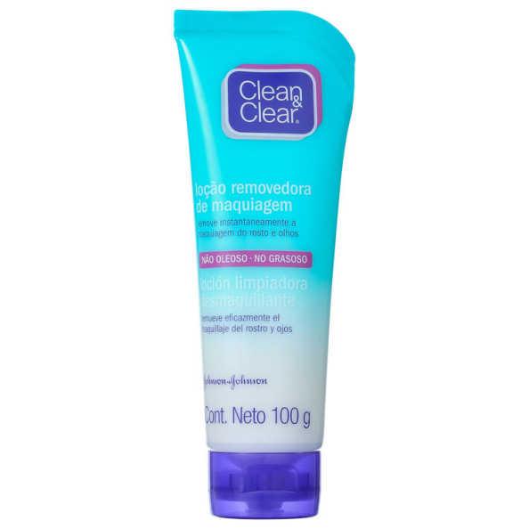 Clean & Clear Loção Removedora de Maquiagem - Loção Demaquilante 100ml