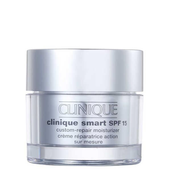 Clinique Smart SPF 15 Custom-Repair Moisturizer Dry Combination - Hidratante Facial 50ml
