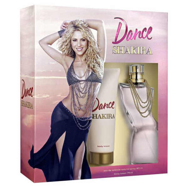 Conjunto Dance Shakira Feminino - Eau de Toilette 80ml + Loção Corporal 75ml