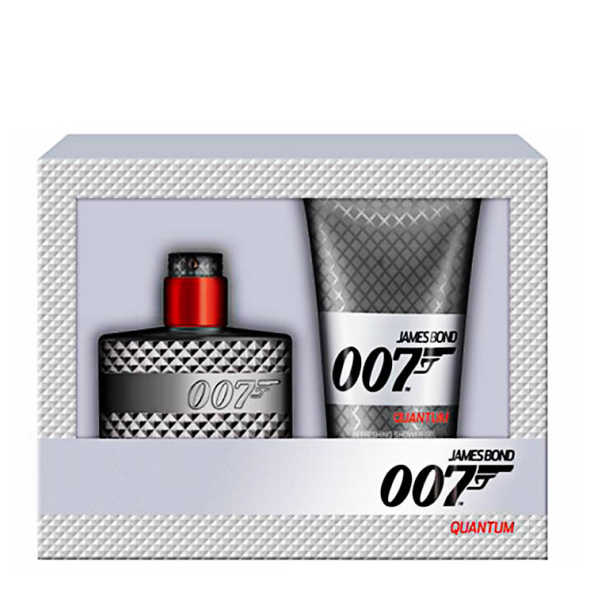 Conjunto Quantum James Bond Masculino - Eau de Toilette 50ml + Gel de Banho 150ml