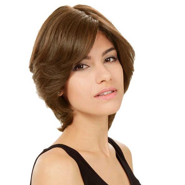 Crown Wigs Amanda Cor Louro Claro/ Escuro - Peruca 25cm