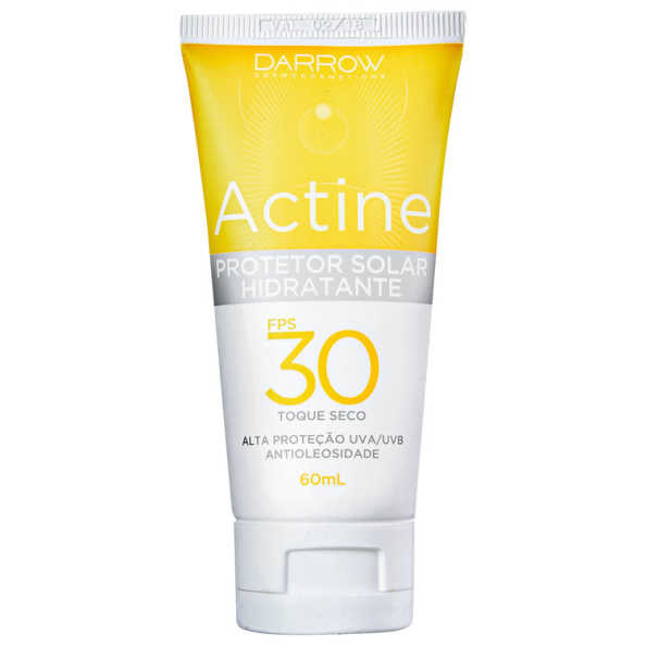 Darrow Actine FPS 30 - Protetor Solar Facial 60ml