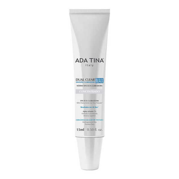 Ada Tina Dual Clear Max - Loção Clareadora 15ml