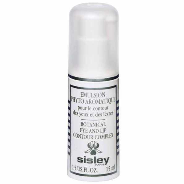 Sisley Emulsion Phyto-Aromatique Pour Le Contour Des Yeux Et Des Lèvres - Tratamento Noturno Para Olhos e Lábios 15ml