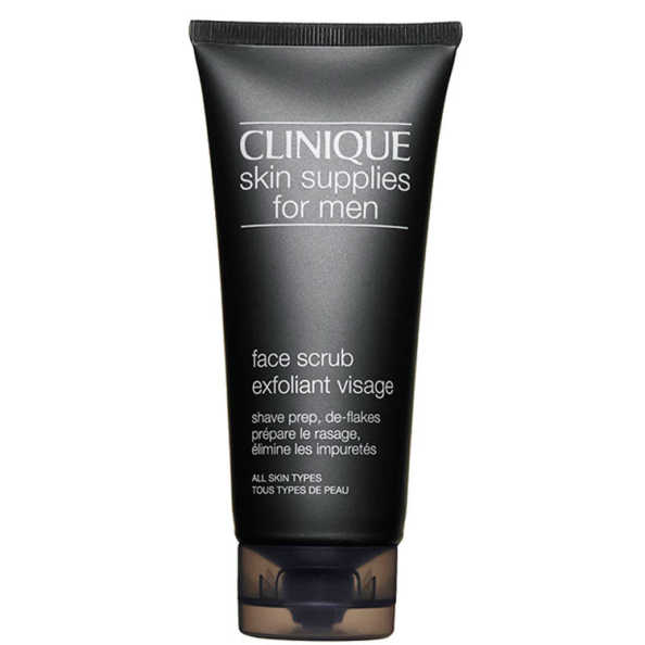 Clinique For Men Skin Supplies Face Scrub Exfoliant Visage - Sabonete Esfoliante Facial 100ml
