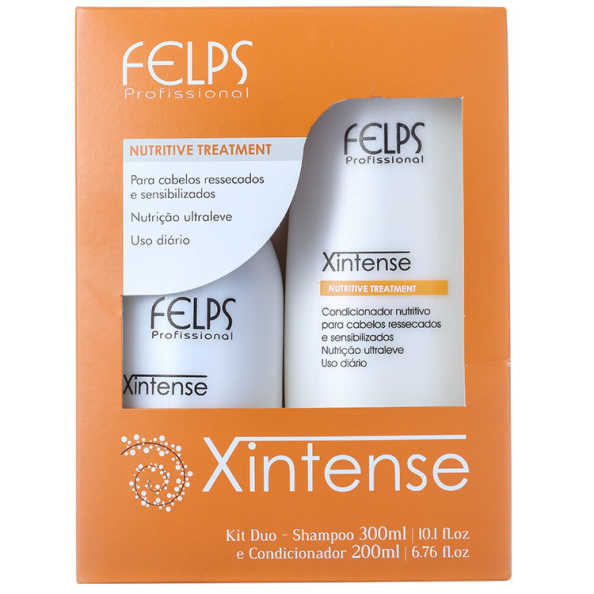 Felps Profissional Xintense Nutritive Treatment Duo Kit (2 Produtos)