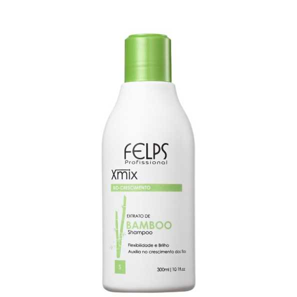 Felps Profissional XMix Bio-Crescimento Extrato de Bamboo  - Shampoo 300ml