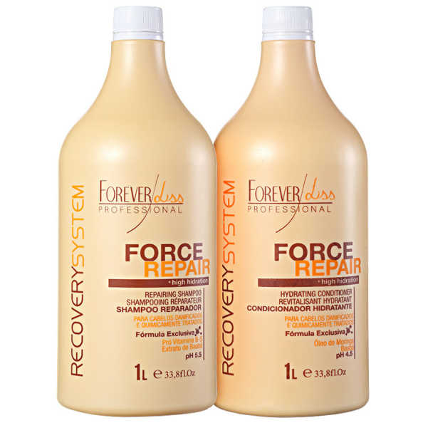 Forever Liss Professional Force Repair Salon Duo Kit (2 Produtos)