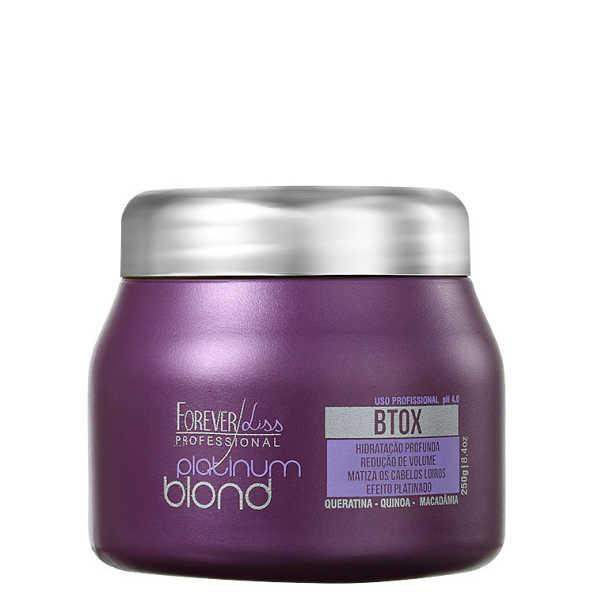 Forever Liss Professional Platinum Blond - Redutor de Volume Matizador 250g