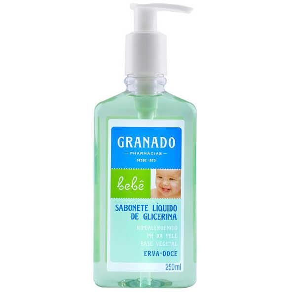 Granado Bebê Glicerina Erva Doce - Sabonete Líquido 250ml