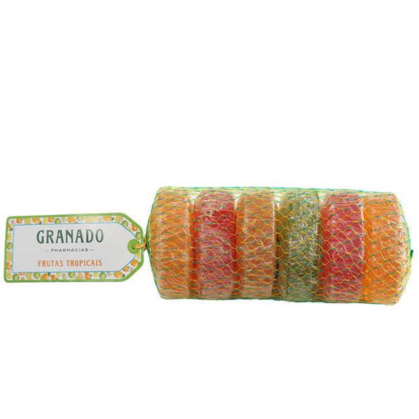 Granado Glicerina Frutas Tropicais - Sabonete em Barra 6x90g
