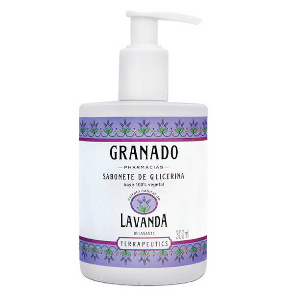 Granado Terrapeutics Glicerina Lavanda - Sabonete Líquido 300ml