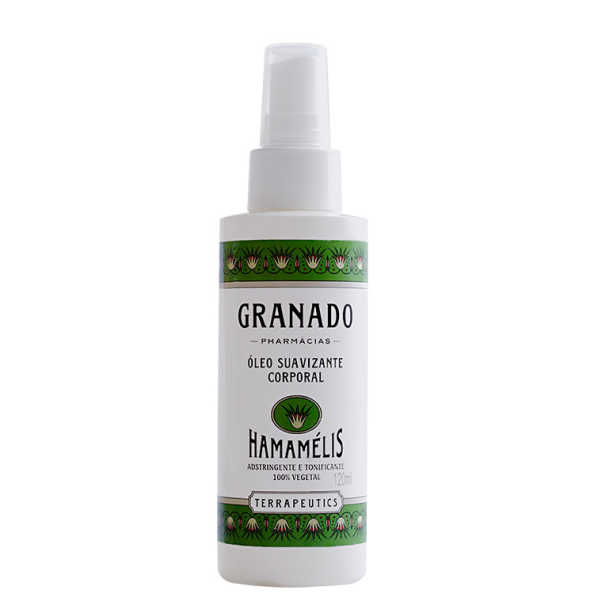 Granado Terrapeutics Hamamélis Suavizante - Óleo Hidratante Corporal 120ml