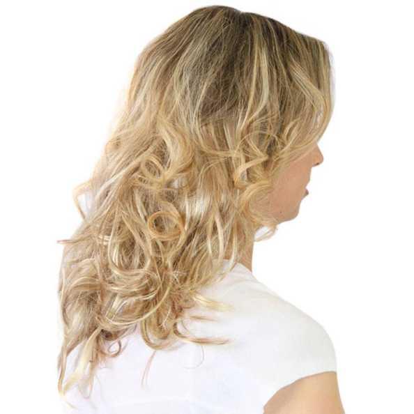 Hairdo Ondulado - Louro Com Mechas Super Claras 45 Cm