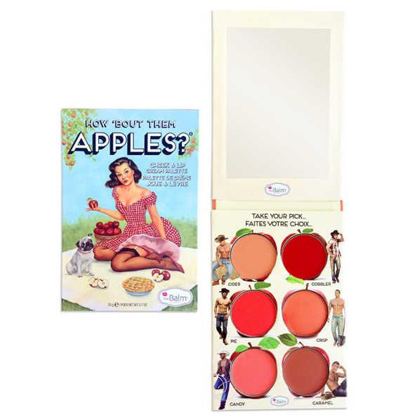 the Balm How'Bout Them Apples - Paleta de Blush e Batom 20g