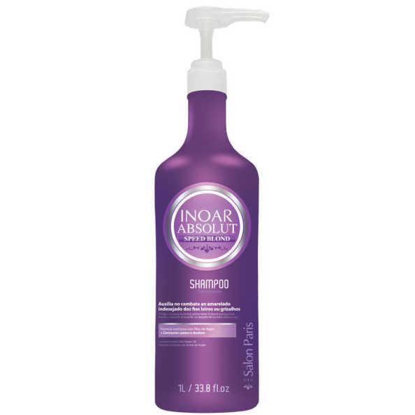Inoar Absolut Speed Blond - Shampoo 1000ml